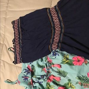 Bundle of girls size/12 rompers